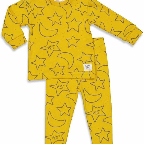 Yellow pyjama | Feetje