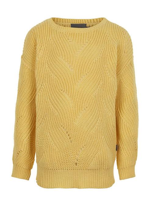 Gele katoenen trui |Creamie