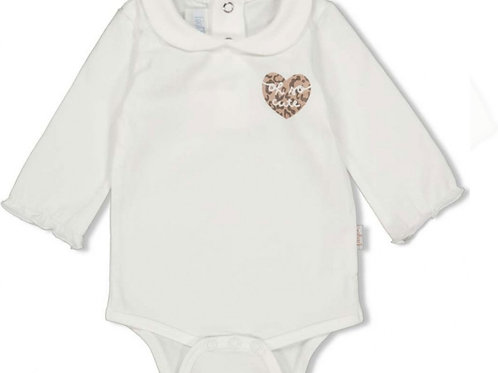 Panther Cutie Romper Offwhite| Feetje