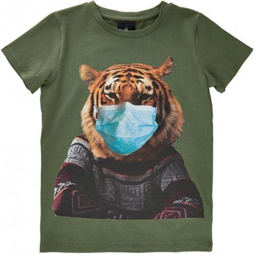 T-shirt met print   The New