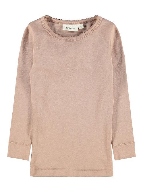 Slim fit shirt lange mouwen | Lil'Atelier