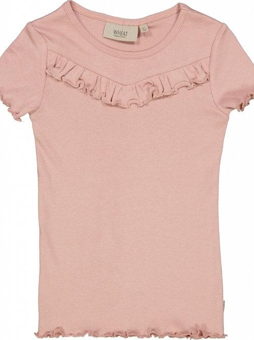 T-shirt jersey powder pink | Wheat