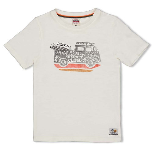 Happy camper t-shirt | Sturdy