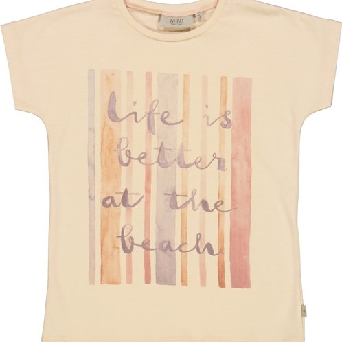 T-shirt beachlife | Wheat