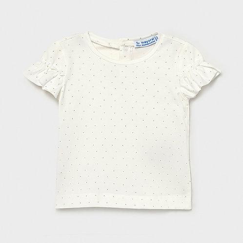 T-shirt met ruffles | Mayoral
