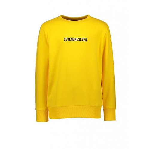 Sweater yellow | SevenOneSeven