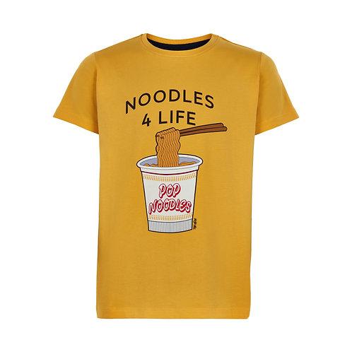 geel T-shirt met print   The New