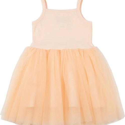 Tule jurk abrikoos | Bob and Blossom