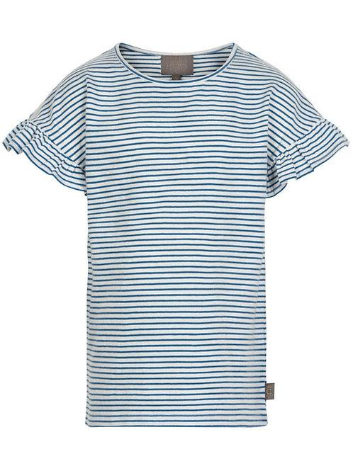 T-shirt streepjes infinity   Creamie