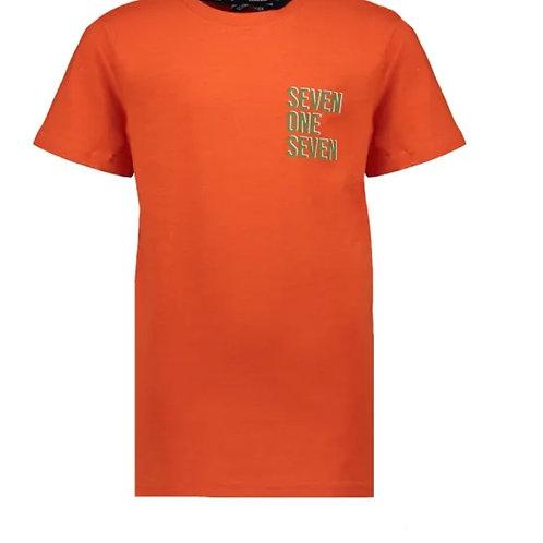 Oranje t-shirt | Sevenoneseven
