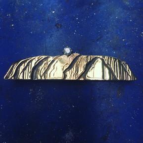 Ayers Rock Tie-slide