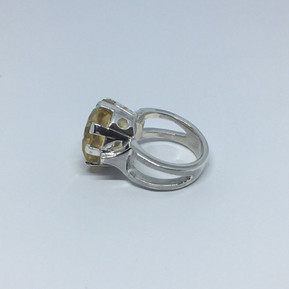 Citrine ring from Leila Collection