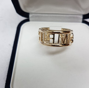 Back of ring