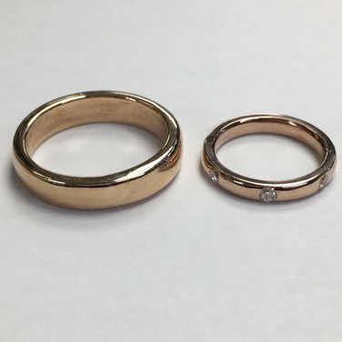 Wedding ring commision