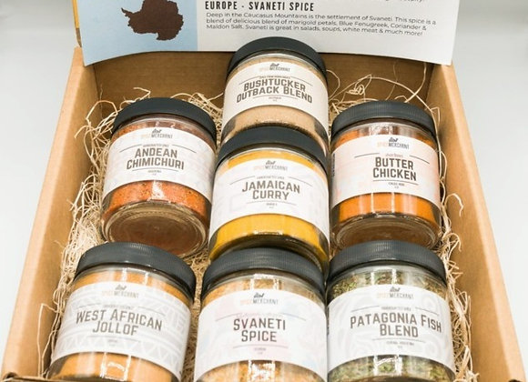 7 Continents Spice Set