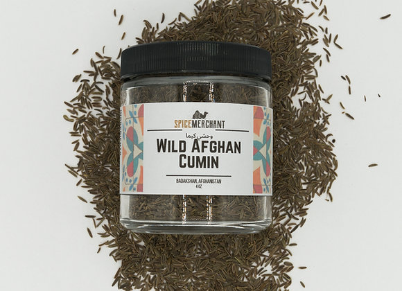 Wild Afghan Cumin (Black Cumin)
