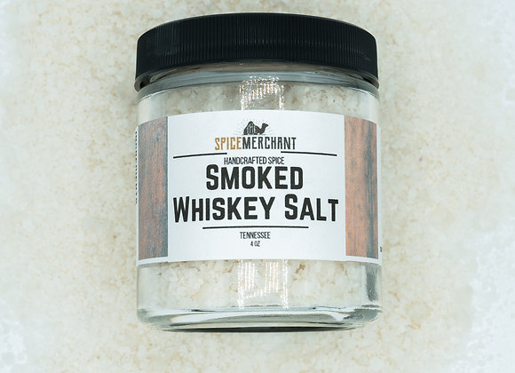 Smoked Tennessee Whiskey Salt
