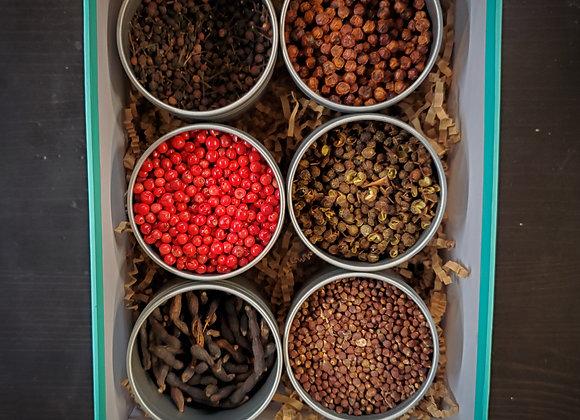 World Peppercorn Set