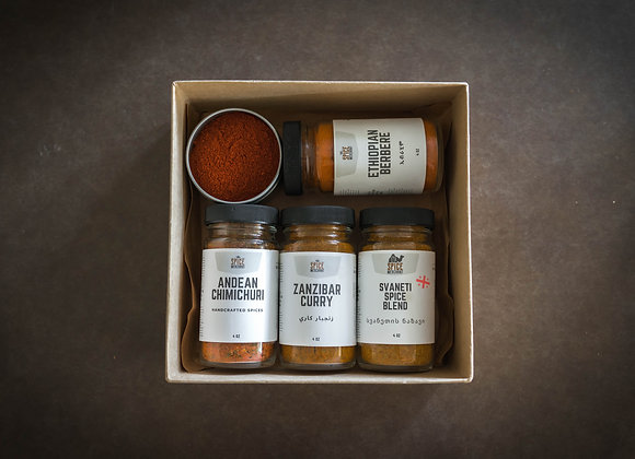 Spice Merchant Favorites Spice Kit