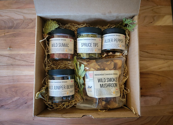 Canadian Indigenous Spice Kit