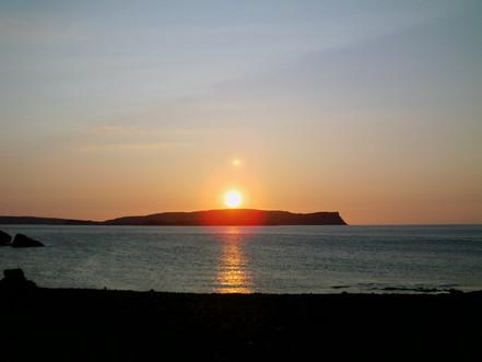 East cost Isle of Rum