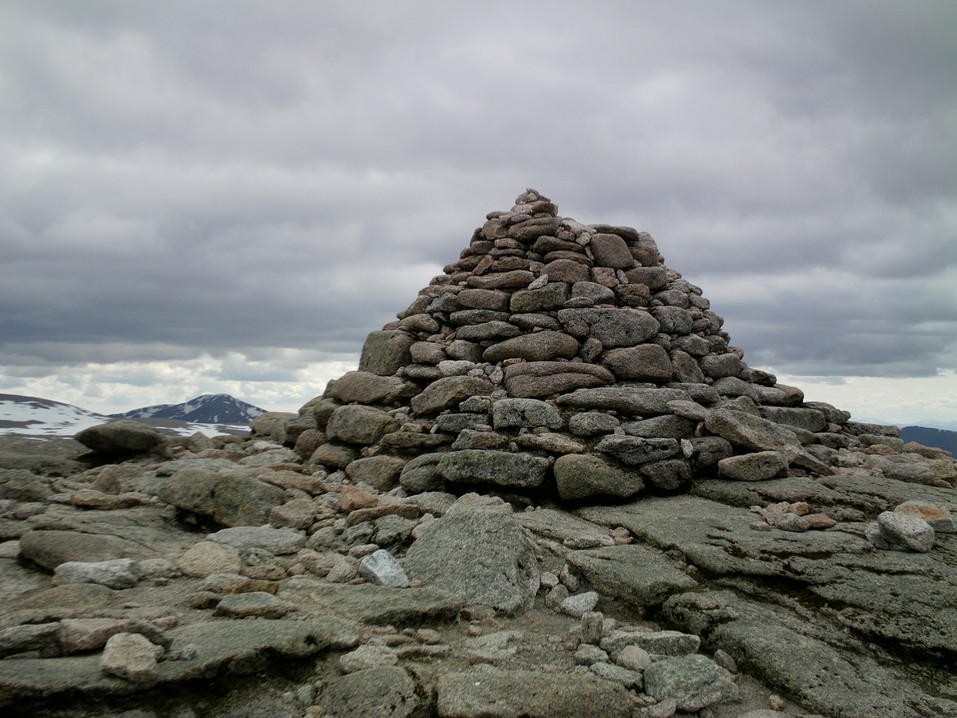 Cairn near Ben Nevis