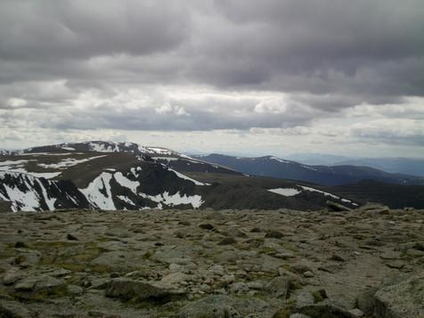 Peaks near Ben Nevis