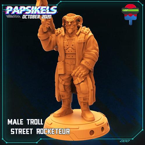 Male Troll - Street Rocketeur