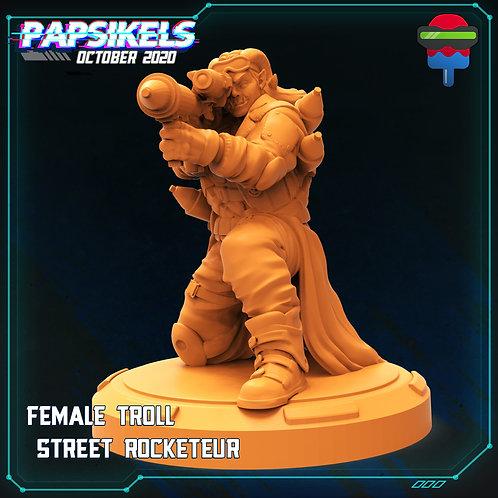 FEMALE TROLL - STREET ROCKETEUR