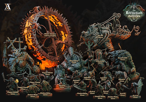 FULL COLLECTION - AFFLICTION OUTBREAK (26 models)