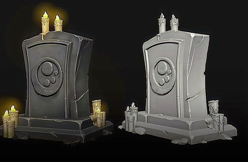 PROPS - GRAVE YARD
