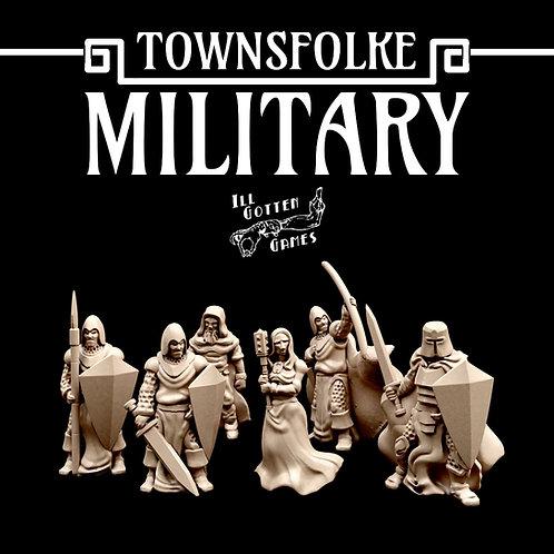 TOWNSFOLKE - MILITARY SET OF 6