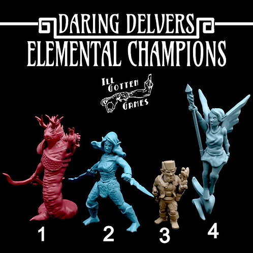 DARING DELVERS - ELEMENATLS CHAMPION