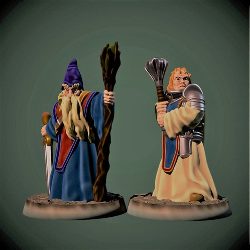 OLD WIZARD & CLERIC