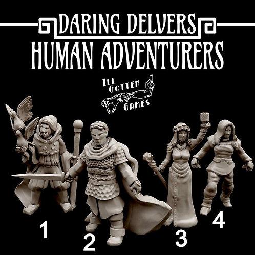 DARLING DELVERS - HUMAN ADVENTURERS