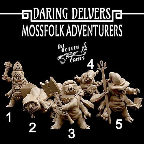 DARING DELVERS - MOSSFOLK ADVENTURES
