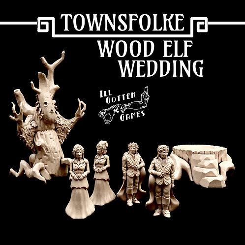 TOWNSFOLKE - WOOD ELF WEDDING SET/ INDIVIDUAL