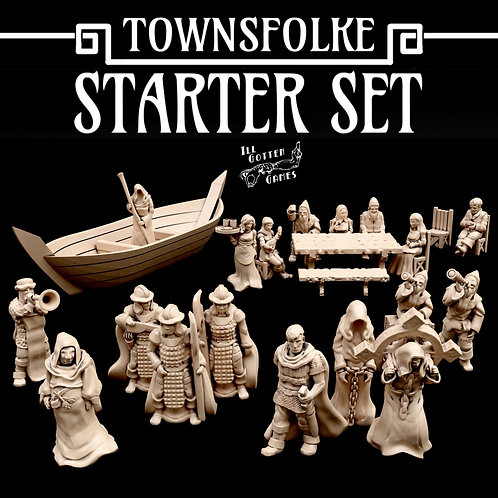 TOWNSFOLKE - STARTER SET