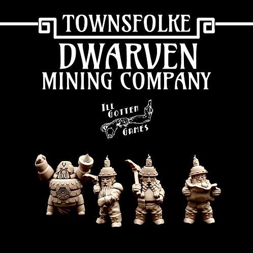 TOWNSFOLKE - DWARVEN MINING COMPANY SET