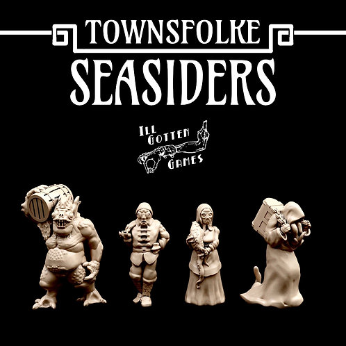 TOWNSFOLKE - SEASIDERS SET