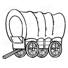 212199-Covered-Conestoga-wagon-with-brow