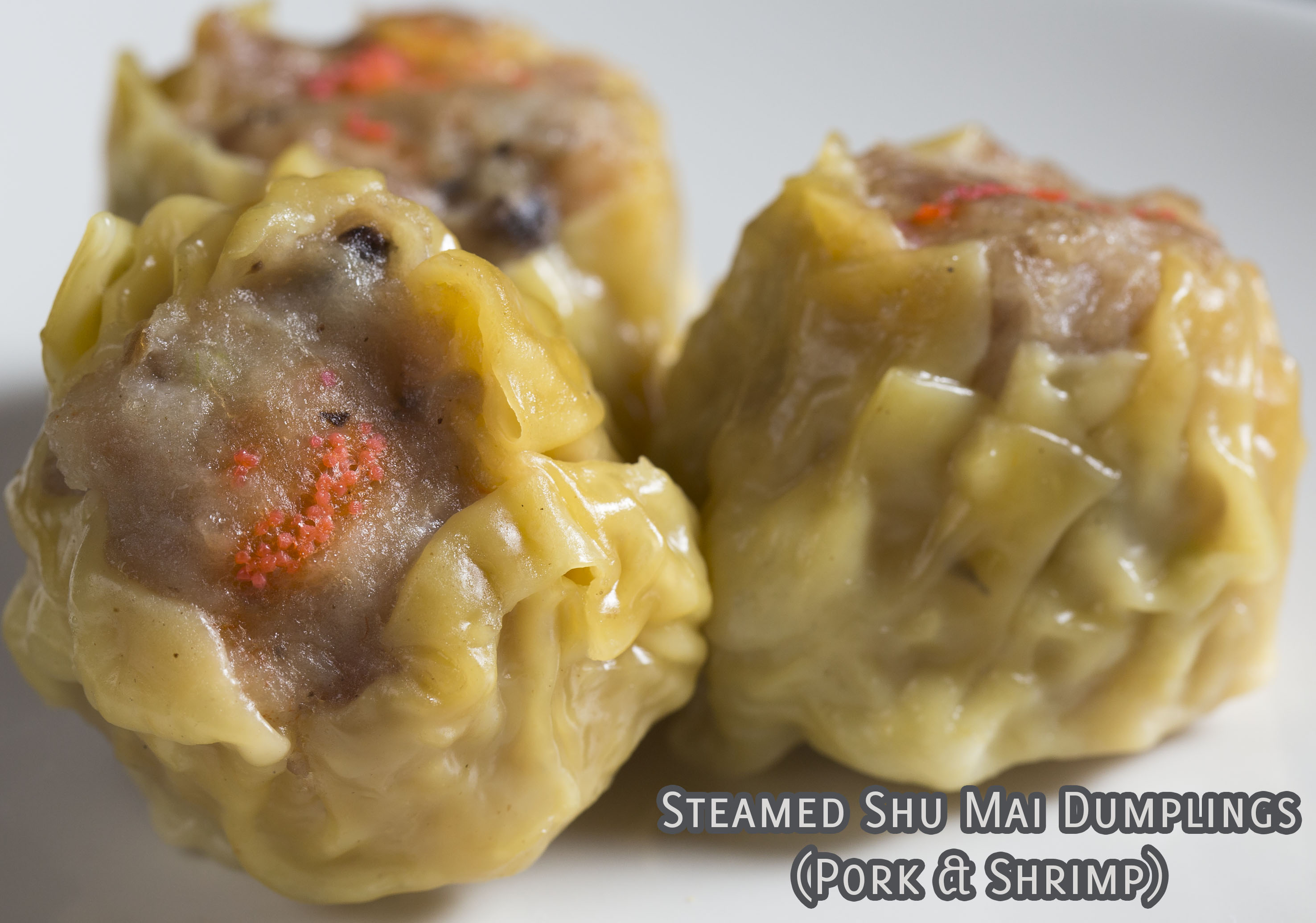 Steamed Shu Mai Dumplings
