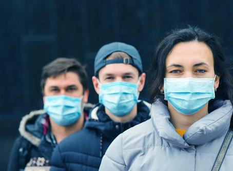 Gespräche hinter Mund-/Nasenschutz