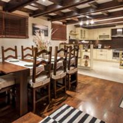 Deluxe apartment kitchen/diner