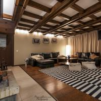Deluxe apartment sitting area