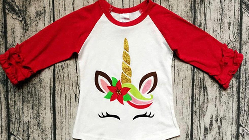 Christmas Unicorn Long Sleeve