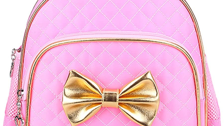 Gold Bow Backpacks