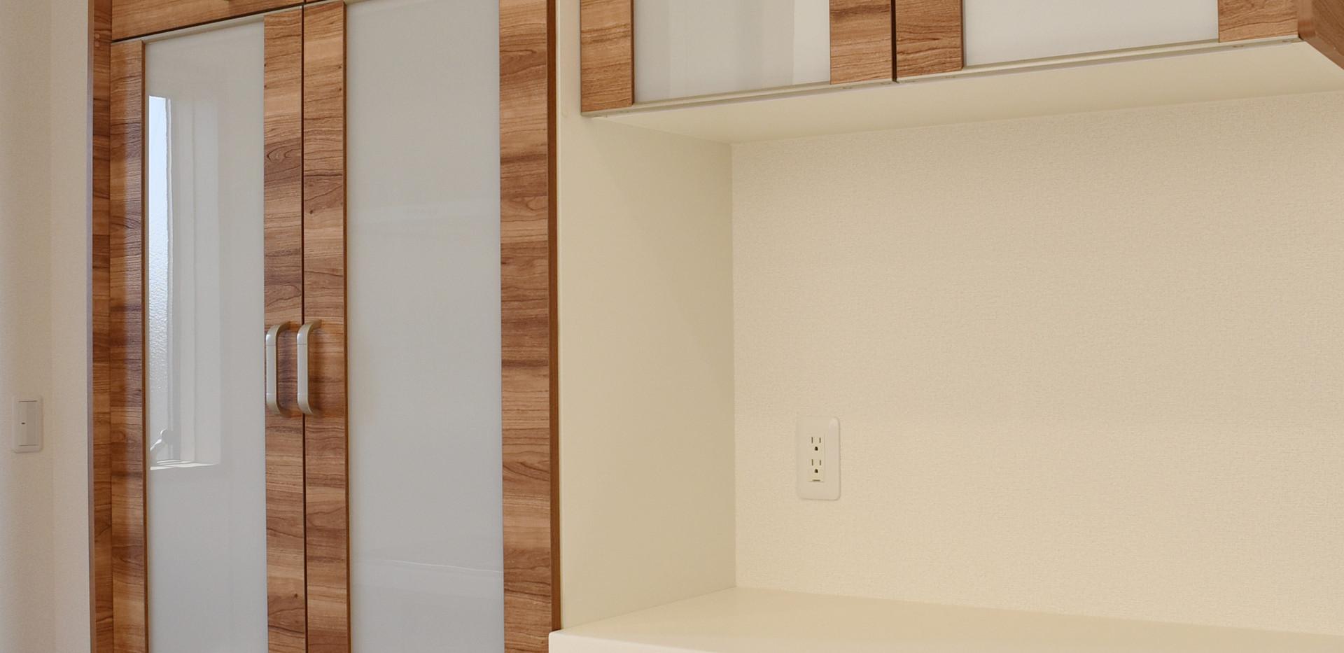 キッチンカップボード.JPG