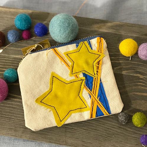Super Star Canvas Mini-Pouch