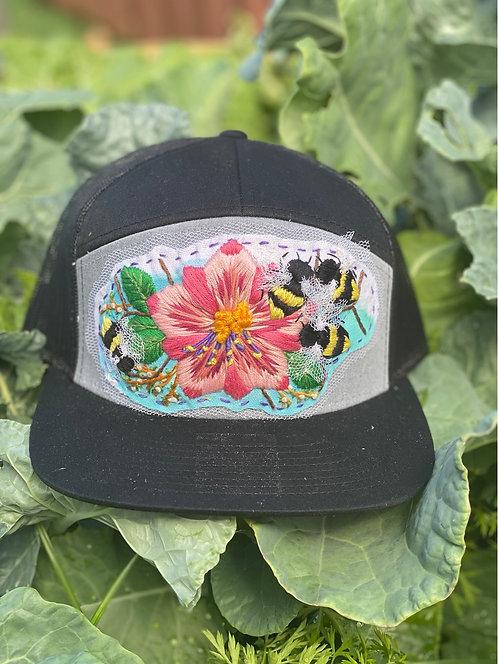 Custom Designed Hand Stitched Hat